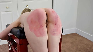 Hammer away Worst Day of Her Life - Spanking