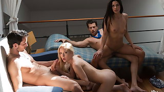 VipSexVault Alexa Tomas Indulge In Hot 4some Soft-pedal & Friends