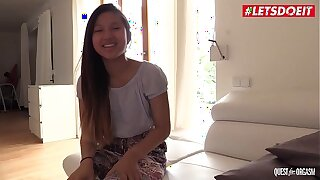 LETSDOEIT - The Thrill Be proper of The Chasing Orgasm All over Hot Asian Teen May Thai