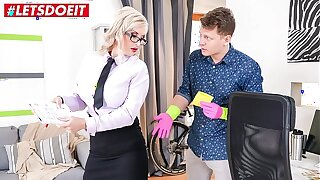 Student fucks his powered teacher hardcore (Jarushka Ross)
