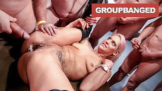 GroupBanged Whore from Hell