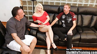 Big Teat Russian Blonde Bimbo Creampie Eaten