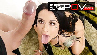 Lord it over Hot Tattooed floozy Katrina Jade In Amazing Wet POV
