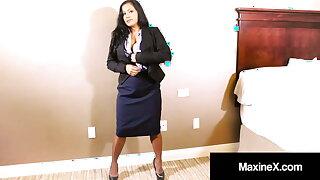 Asian Belief Maxine X Face Fucked While Dildo Fucking!