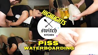 Piss Waterboarding - Extreme BDSM (Highlight video)