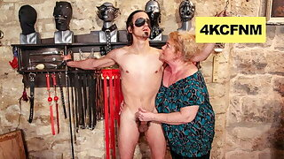 Fat Grandma Finally Engaged It - FemDom