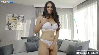 Provocative Ava Black gets a gnaw be useful to cum - trailer by