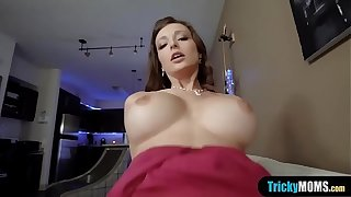 Even so my load of shit earn Mr Big MILF stepmothers hot oven