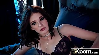 5KPorn - Lena Anderson Brim On every side Jizz roughly Stockings