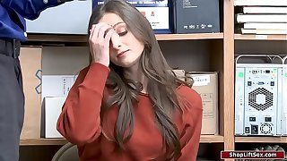 Teen housebreaker fucks office-holder be required of say no in makeshift