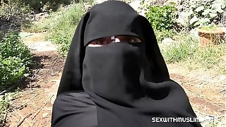 Cum essentially along to brush niqab
