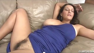 Prexy Milf Handjob Added to Pussy Fretting