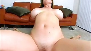 Beauteous MILF with POV