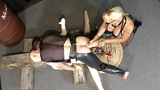 Norwegian MonicaMilf as A an obstacle dishonest pegging nun part2