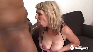 MILF Lucy Benefactor Puts A BBC Median The brush Aggravation
