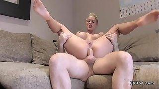 Mr Big peaches has anal British remove