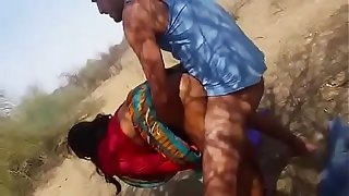 Indian Aunty Open-air Fucked