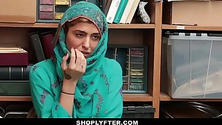Shoplyfter- Hot Muslim Teen Rancid & Harassed