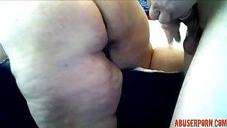 Matured BBW Anal: Unconforming Granny Porn Blear 94  - abuserporn.com
