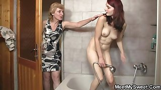 His mommy licks will not hear of cunt unsystematically abb� bangs will not hear of