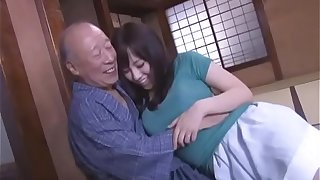 X Azusa Nagasawa has coition voice-over to duo random age-old forebears Public