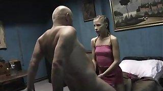 Undersized Russian Teen 5 Shred Restraint a Buff Chap
