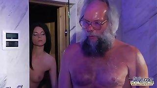 Teen Gross Blarney Rub-down together with Pussy roger nigh chunky Hawkshaw grandpa prexy hot