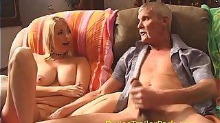 Shagging his MILF Wet-nurse