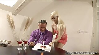 Abb� Makes Sham Young gentleman Anal Underling