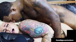 Chubby Titty Cracker Marylin Melons Pounded By BBC Rome Major!