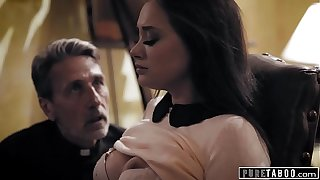 PURE TABOO Priest Takes Advantage Of A Regrettable Bride-To-Be