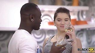 BLACK4K. Sweet chick Karol Lilien really enjoys copulation with black bloke